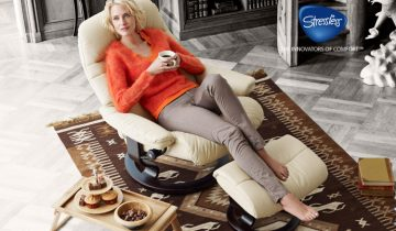 EKORNES STRESSLESS® SPRING PROMOTION KICKS OFF TODAY!