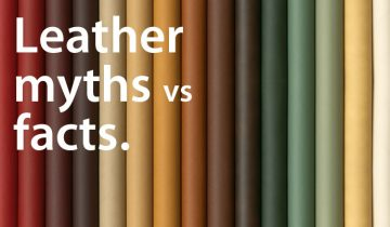 LEATHER MYTHS DEBUNKED, PLUS HELPFUL CLEANING TIPS